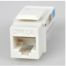 Volition Cat.6 110 type RJ45 Jack, White