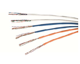Volition Cat.6 Cable, U/UTP, PVC, 4 pairs, 24AWG